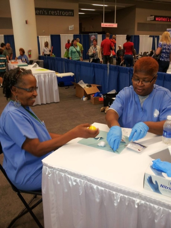 Health Screenings at WKYC Health Expo